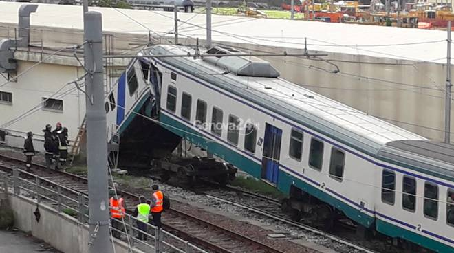 incidente treno terralba