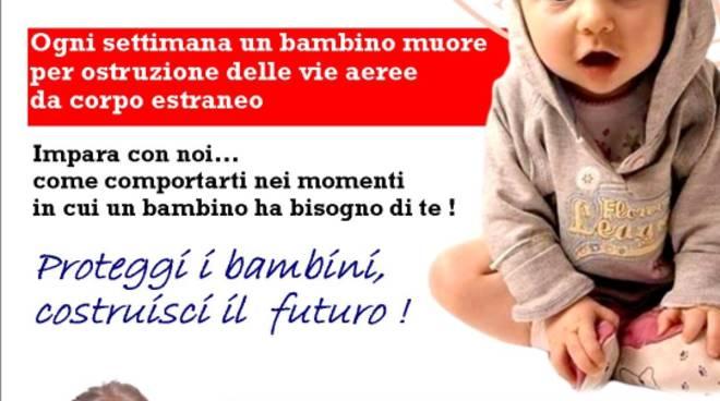 Lezione manovre salvavita pediatriche Croce Rossa Italiana