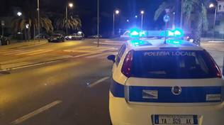 Loano, i controlli stradali della polizia municipale