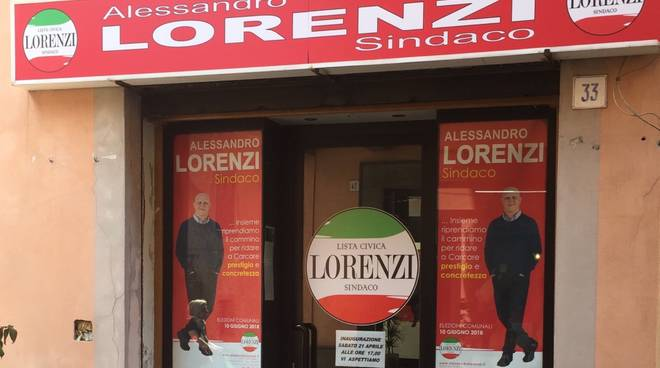 lorenzi sindaco point carcare