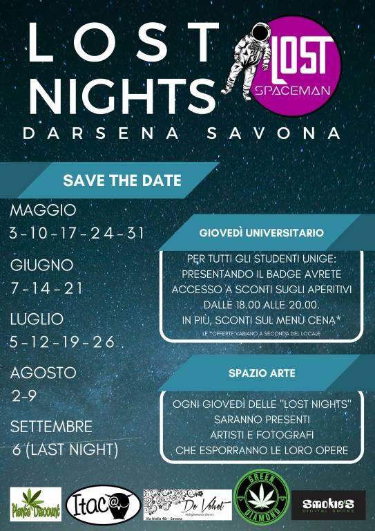 Lost Nights Darsena Savona 2018