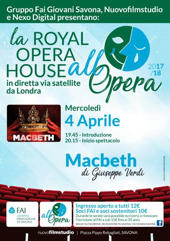 Macbeth Royal Opera House FAI Nuovofilmstudio