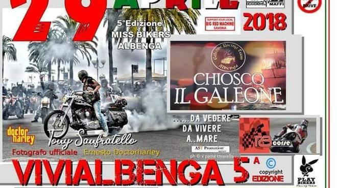 """Memorial """"Fausto Vignola"""" e Miss Bikers Albenga 2018"""