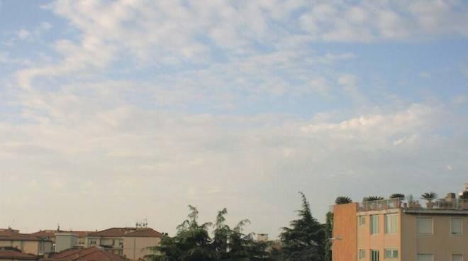 Meteo 28 aprile 2018 nuvoloso albenga