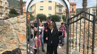 Pietra Ligure, il nuovo parco di viale della Repubblica