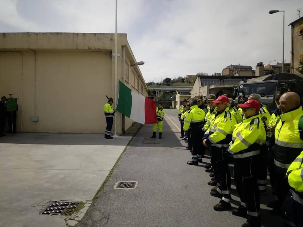 Protezione civile dell'Associazione Nazionale Alpini: inaugurata la nuova sede di Savona