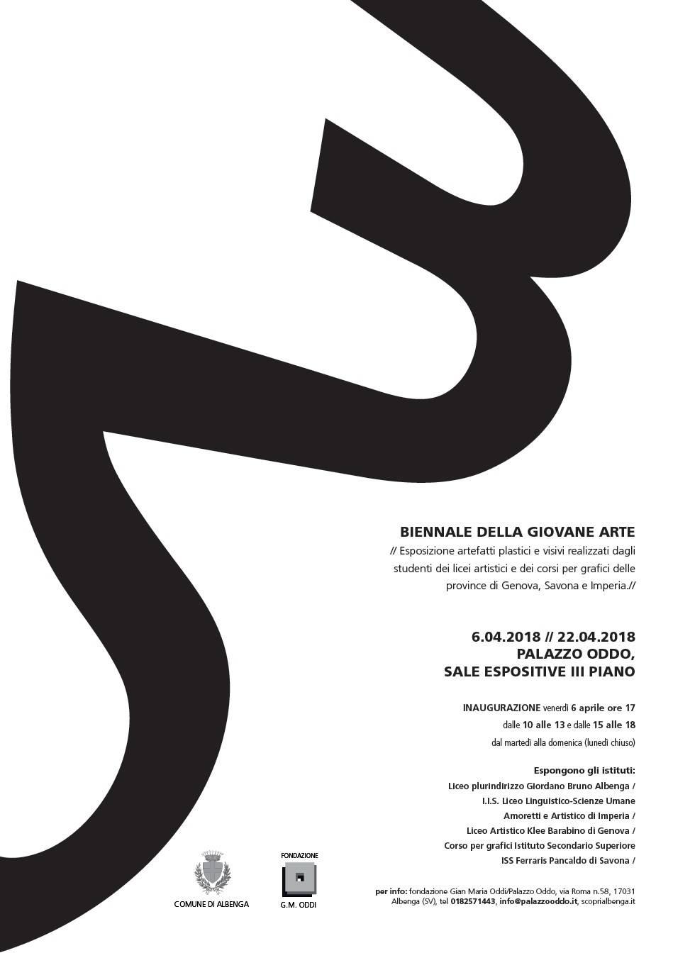 """Rassegna di creatività """"Biennale della giovane arte"""""""