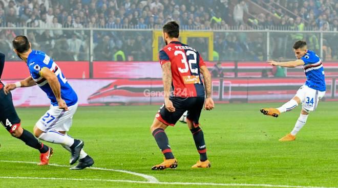 Sampdoria Vs Genoa Derby della Lanterna