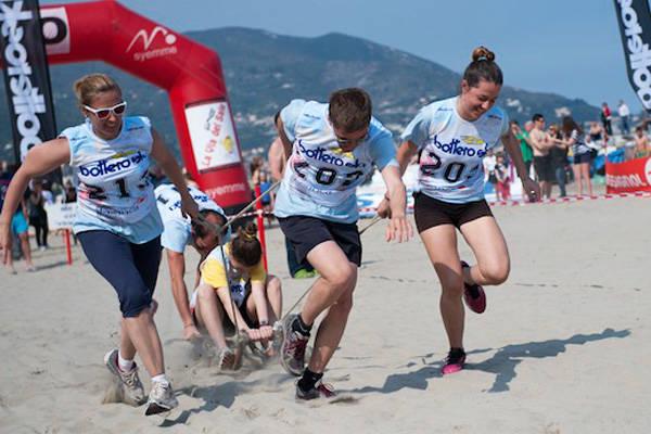 Corsa in spiaggia