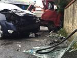 Scontro tra due veicoli ad Albenga