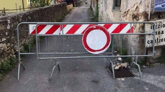 strada chiusa borghetto