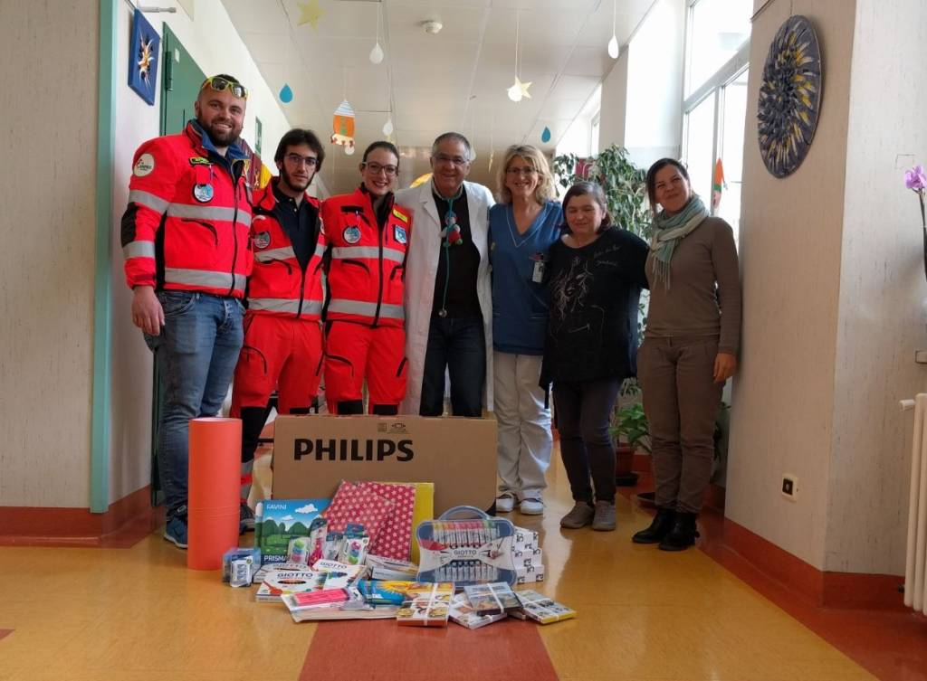 Donazione Croce Bianca San Paolo