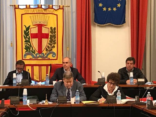 Consiglio Comunale Albenga aprile 2018