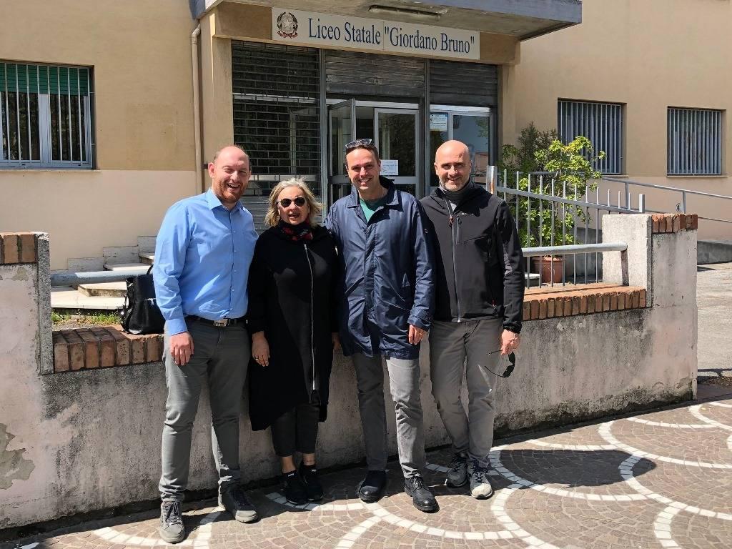 Albenga Forza Italia Liceo Bruno