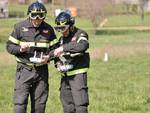 Vigili del Fuoco pilotano droni