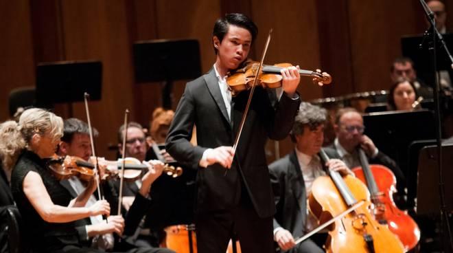 Vincitore premio Paganini 2018 zhu Kevin