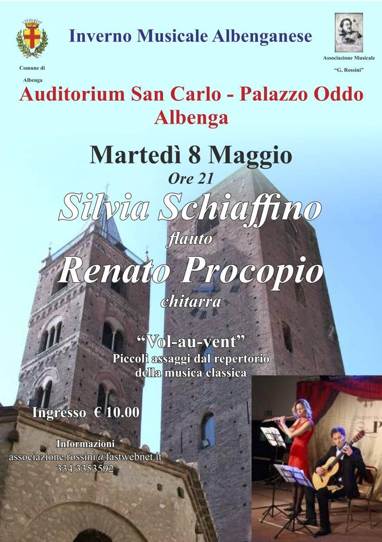 """""""Vol-au-Vent!"""" concerto Silvia Schiaffino e Renato Procopio"""