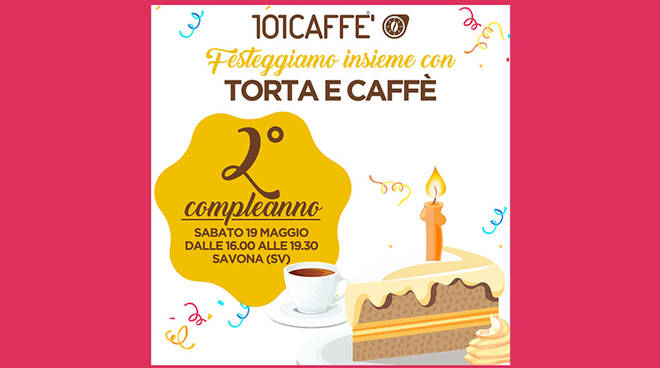 2° compleanno 101Caffè Savona