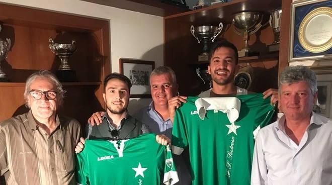 Akkari e Zani, neo giocatori della Sestrese 2018/19