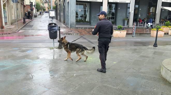Alassio, controlli dei carabinieri in centro