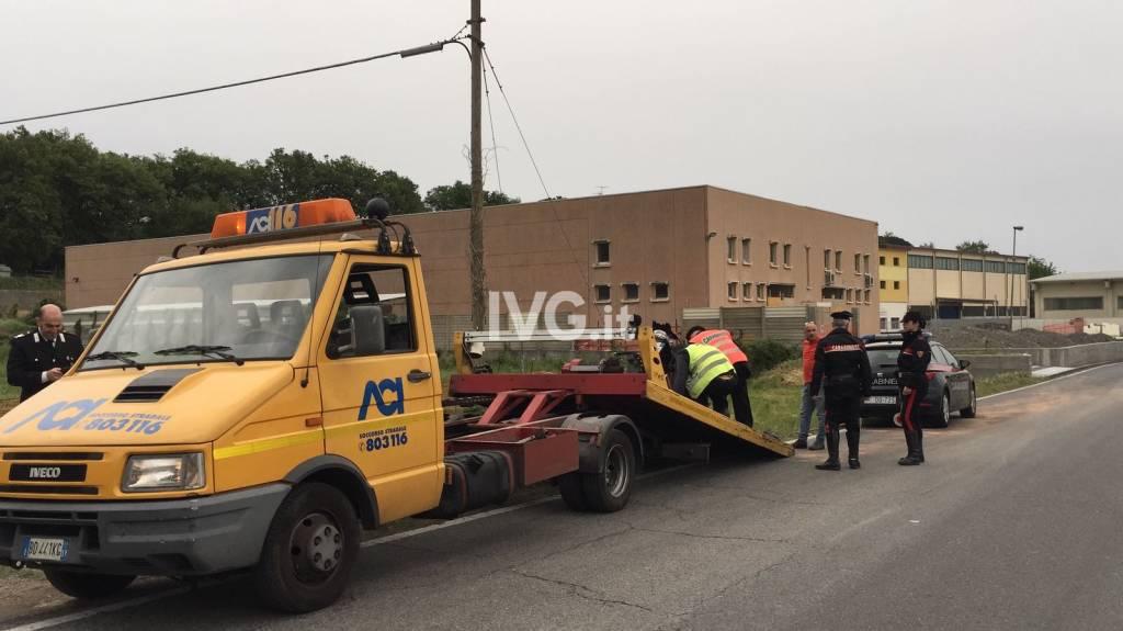 Albenga, grave incidente sulla strada per Cisano