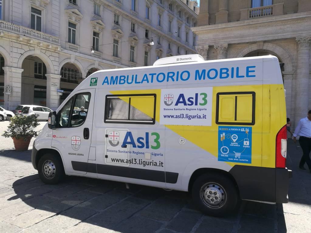 Ambulatorio mobile asl3