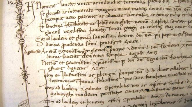 Archivi storici Medioevo Savona