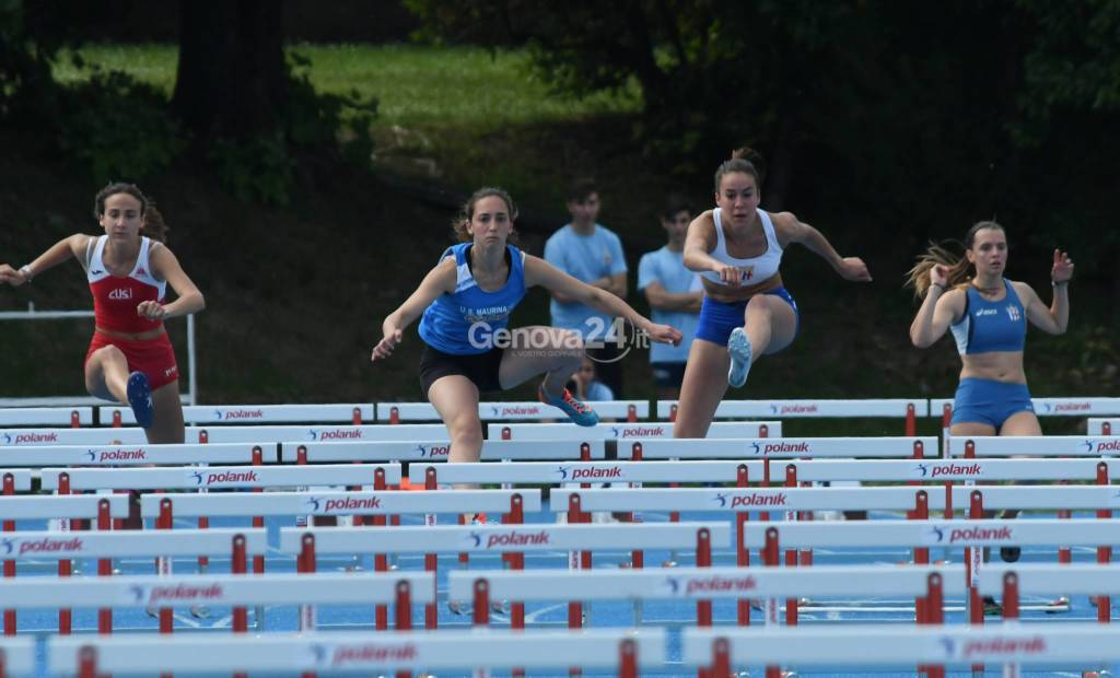 Campionati Cds di Atletica Leggera per la categoria Allievi La Spezia