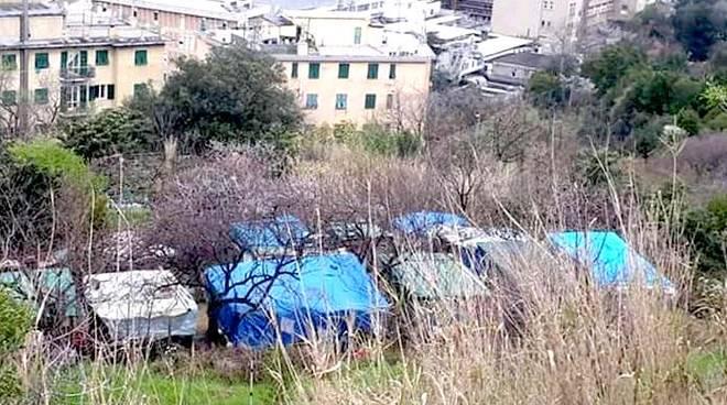 campo rom via dell'acciaio