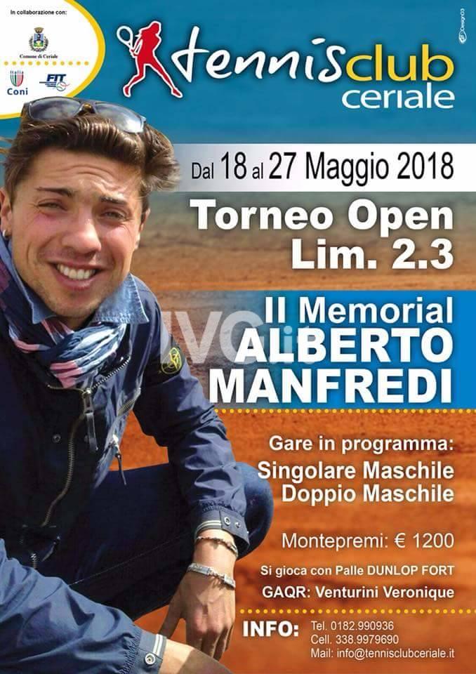 II Memorial Alberto Manfredi