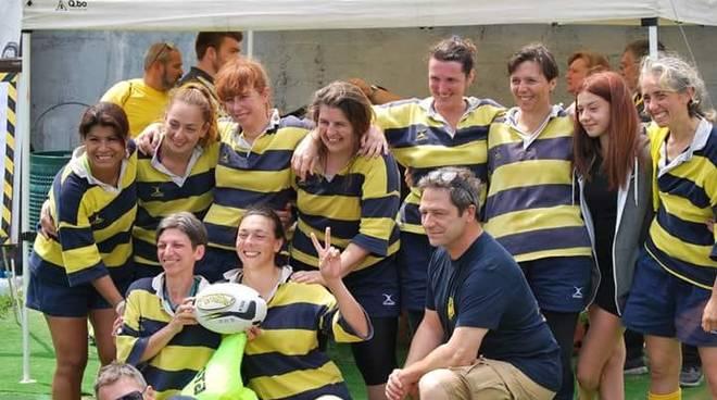 Cogoleto rugby Old Femminile trionfa  al 1° torneo Morositas