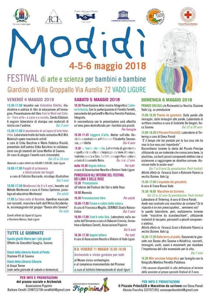 Festival Modidì. Arte e scienza per bambini e bambine