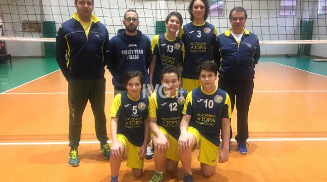 Volley: Under 13 3Vs3 in partenza per Cosenza