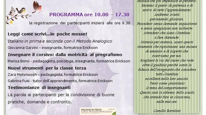 Italiano con il Metodo Analogico di Camillo Bortolato