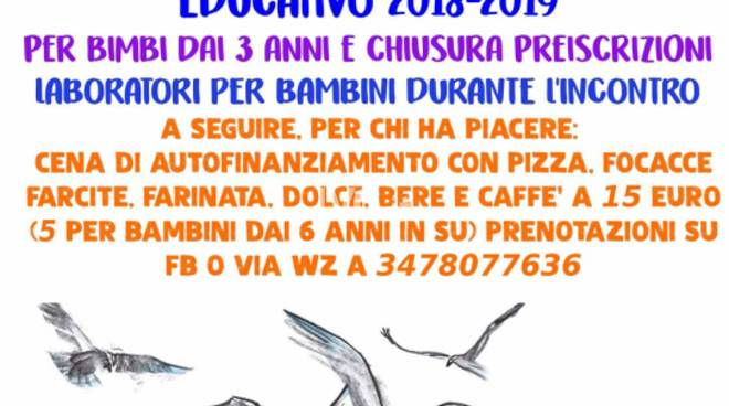 Oggi alla SMS Cantagaetto presentazione del progetto associativo/educativo dell\'APS Vassilissa più cena autofinanziamento