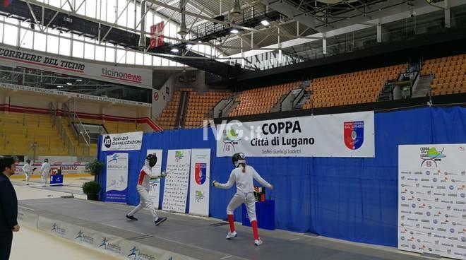 Scherma: Coppa Città di Lugano - Torneo di Scherma, Argento per BRAGATO LETIZIA