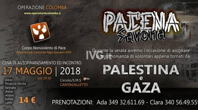 Stasera alla SMS/Circolo ARCI Cantagalletto: la 5° edizione di Pace-na Savona