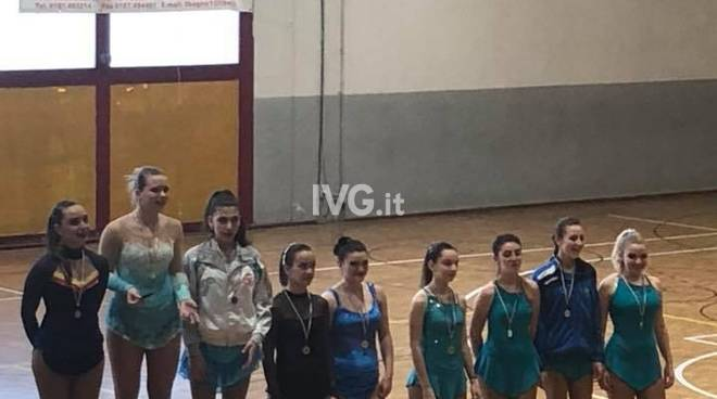 Campionato regionale FISR solo dance: oro per Giulia Nolli, argento per Alice Ferrero e bronzo per Sarà Negrini