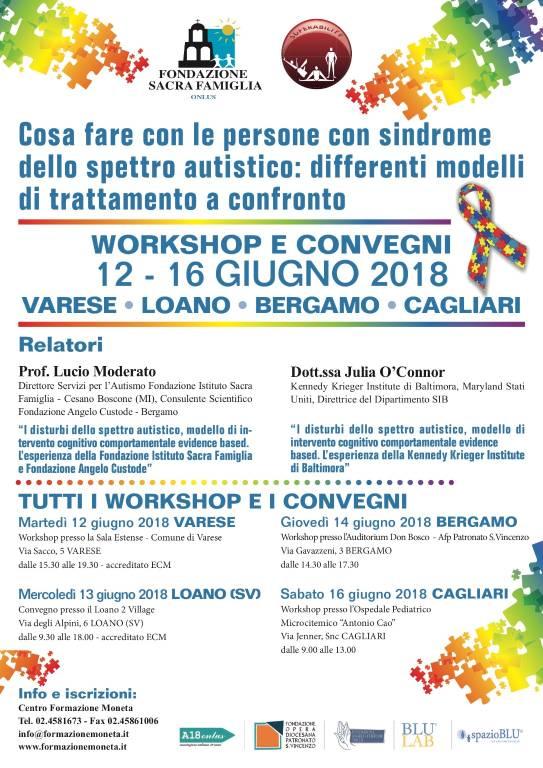 Convegni autismo Fondazione Sacra Famiglia