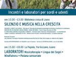 """Convegno """"That's Silence"""" non udenti Loano"""