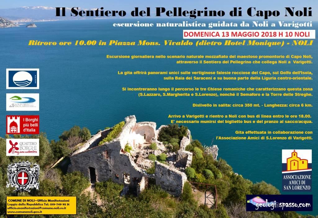 Escursione naturalistica Sentiero del Pellegrino