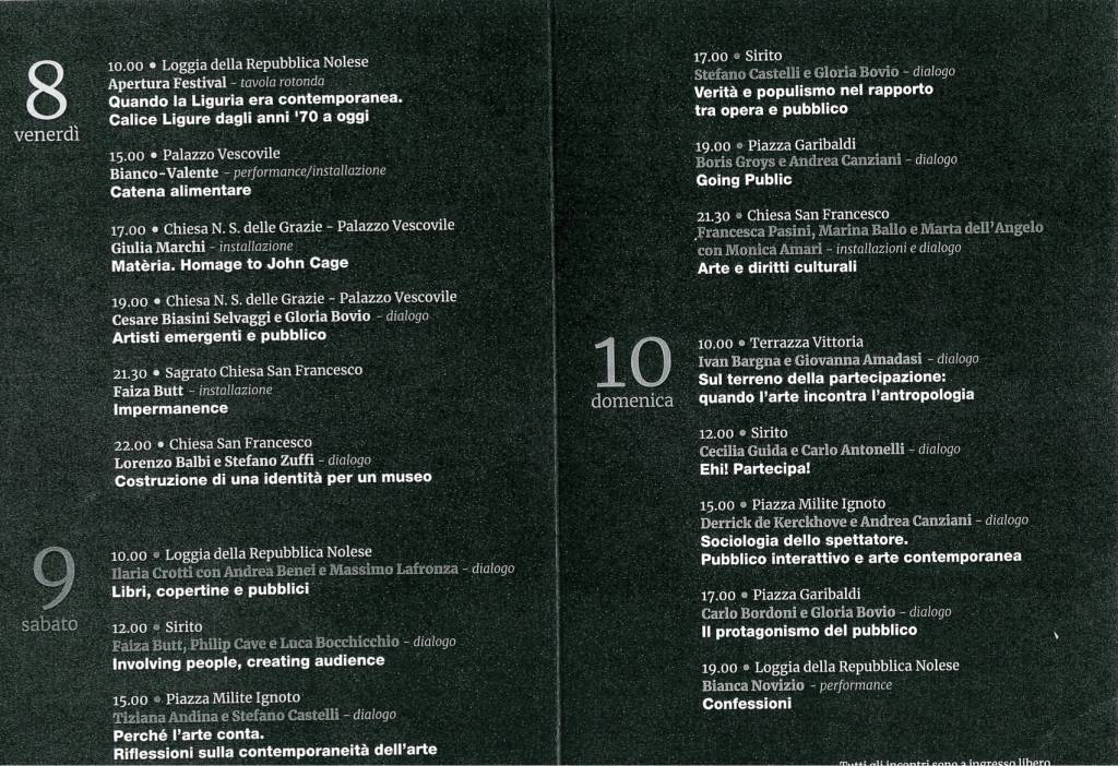 "Festival di arte contemporanea ""Dialoghi d'Arte"""