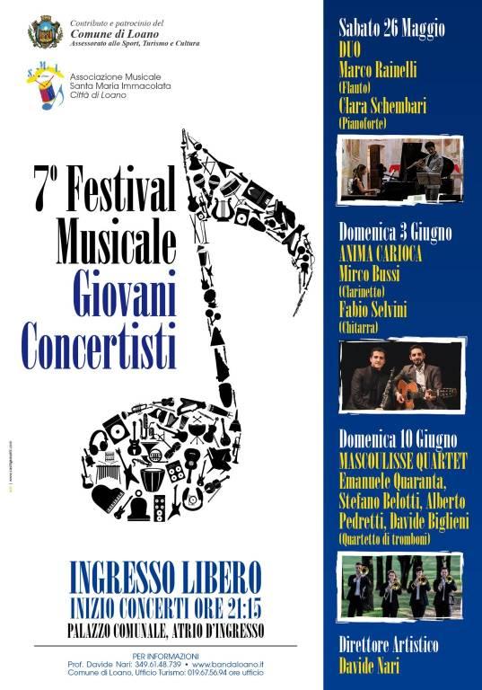 """Festival Musicale """"Giovani Concertisti"""" 2018 Loano"""