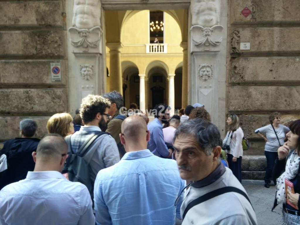 Folla per i Rolli days 2018