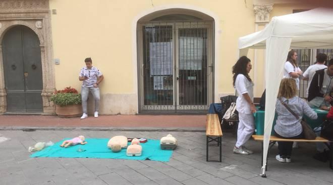Giornata internazionale infermiere Pietra Ligure
