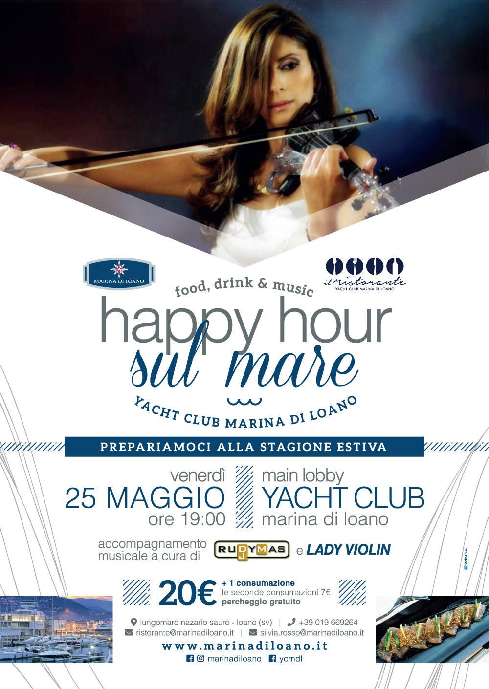 """""""Happy Hour sul Mare"""" 25 maggio 2018"""