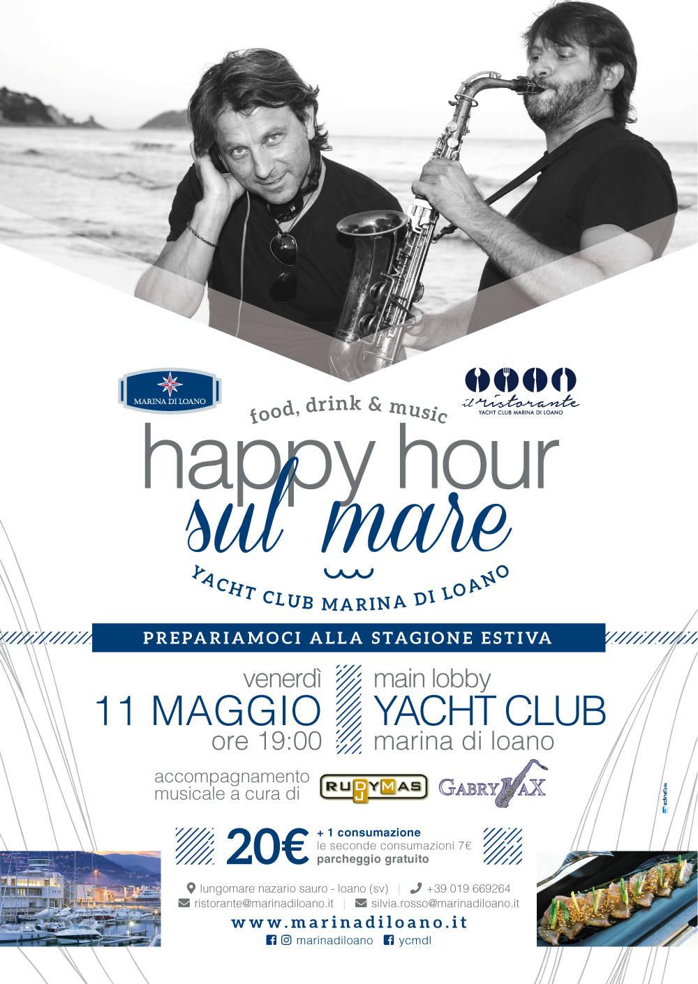 """Happy Hour sul Mare"" Yacht Club Marina di Loano"