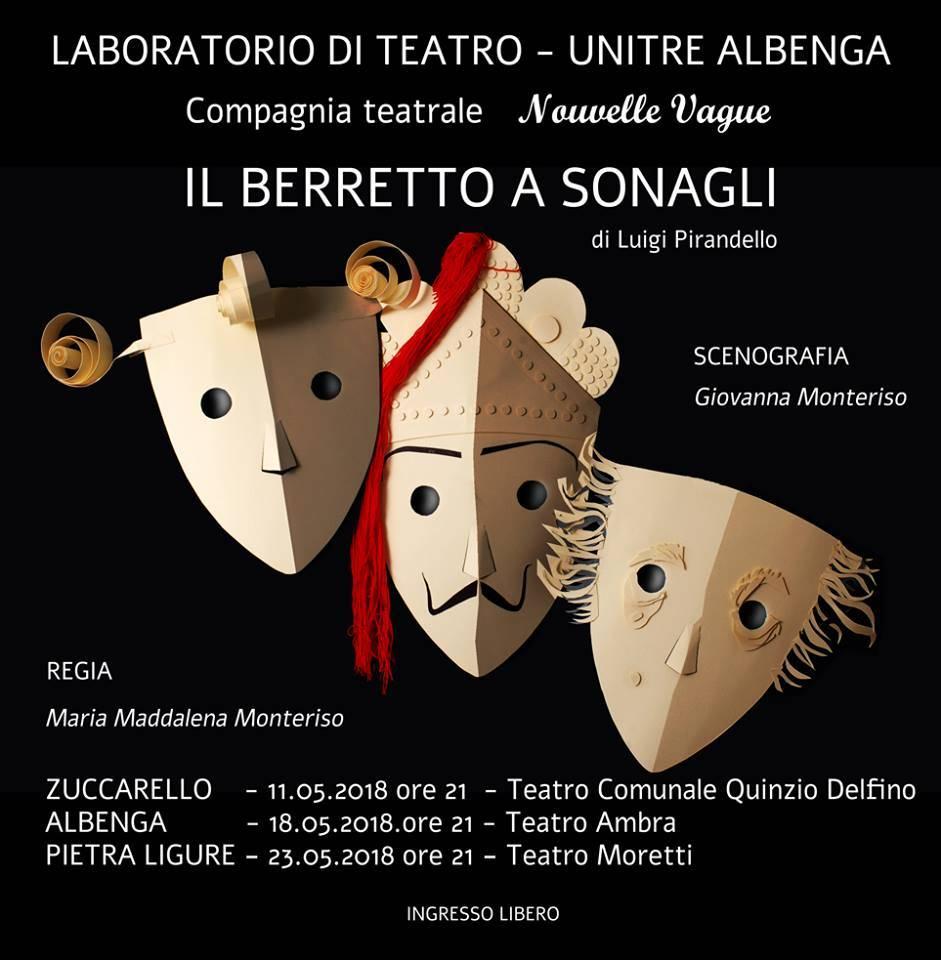 """""""Il berretto a sonagli"""" Compagnia Teatrale Nouvelle Vague"""