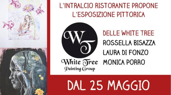 Inaugurazione mostra pittura White Tree