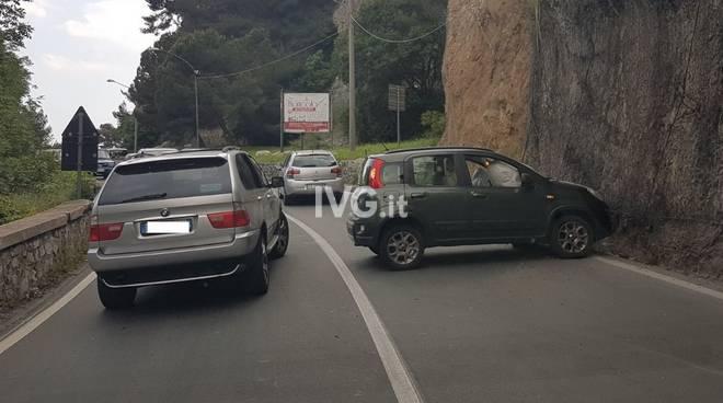 Incidente stradale a Capo Santo Spirito
